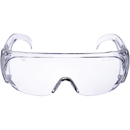 Image of CLEAR PROTECTIVE OVERGLASSES EN166 1FT