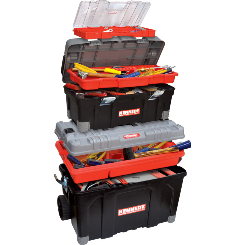 Image of2-IN-1 ROLLING TOOL BOX